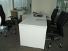 TABLE WITH SIDE CABINET -